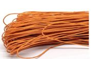 80 Metres of Orange Waxed Cord 1mm